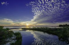 Sunset Tranquility - This is a sunset taken at Weeks Bayou in  Ocean Springs, MS.