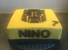 Transformer taart www.cakesfromjessica.com