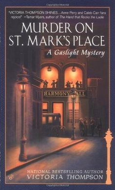 Murder on St. Mark's Place (Gaslight Mystery #2) by Victoria Thompson