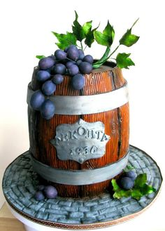 Wine barrel cake - Cake by Ral