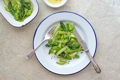 When you have the best ingredients, you can keep things simple, like with this fava bean and asparagus salad.