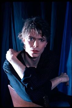 David Bowie,1980 by Dean Chamberlain