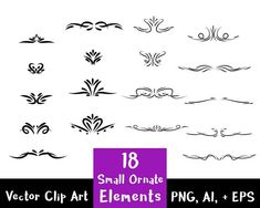 You can use these digital design elements to create printable art, do scrapbooking, enhance your Frame Clipart, Vector Clipart, Clipart Images, Elements Of Art, Design Elements, Page Dividers, Mega Pack, Decorative Borders, Printable Art
