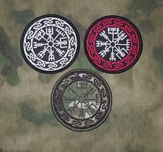 Vegvisir - The Viking Compass Velcro Backed Morale Patch