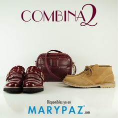 COMBINA2: 1 bolso xa 2 zapatos Emoticón heart ¿ Cuál sería tu outfit favorito ? #combina2 #streetstyle #locaporlamoda #cityMARYPAZ #streetstyleMARYPAZ #autumnwinter15 #otoñoinvierno2015 #trendy #moda #cool   OXFORD ► http://www.marypaz.com/tienda-online/blucher-con-flecos-y-hebilla-troquelado-49893.html?sku=72284-35  BANDOLERA ► http://www.marypaz.com/tienda-online/bolsos/bolso-bandolera-con-doble-cremallera-48791.html?sku=73192-00 BOTÍN ►…