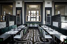 Les plus beaux restaurants deco a Paris : Le Café de l'Homme par Gilles & Boissier