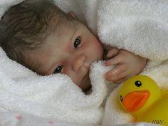 Reborn baby doll by Nina Polanco
