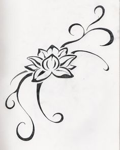 small lotus flower tattoo | Jane Tattoo Gallery: flower tattoo by June Fowler …