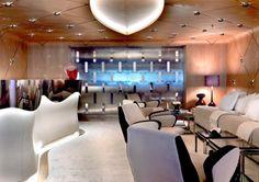 Stunning design elements by Salvagni Architetti aboard luxury charter yacht Numptia