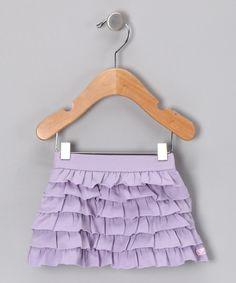 Lavender Ruffle Skirt