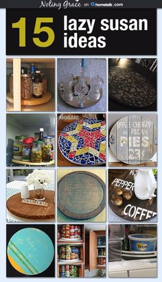 15 Genius Ways To Make A Lazy Susan Work