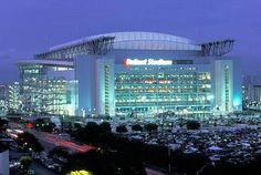 Reliant Stadium...where the Texans dominate every Sunday