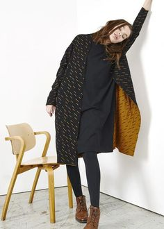 Weekend style with the Windy day cardigan. And yes, it's reversible! Ethical Fashion, Womens Fashion, Windy Day, Weekend Style, Long Cardigan, One Pic, Sustainable Fashion, Organic Cotton, Raincoat