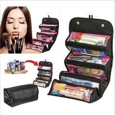 Travel Cosmetic Roll-N-Go Multifunction Organizer