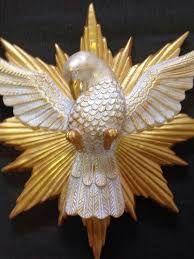 Resultado de imagem para divino espirito santo em gesso
