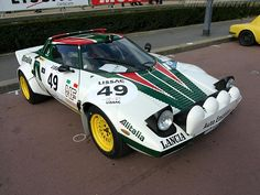 The grand daddy of rally cars, when the men had balls the size of ....... , the classic Lancia Stratos