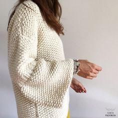 ¿Te atreves a tejer un jersey en punto arroz? | SANTA PAZIENZIA