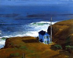 George Bellows - Shore House, 1911