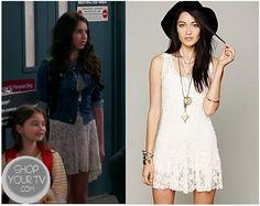 See Dad Run: Season 2 Episode 2 Emily's White Lace Dress