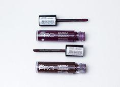 Resenha: Batons Líquidos Dailus Pro - cores Jetés e Sapatilha