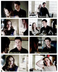 The Flash - Ronnie, Caitlin and Barry #1.3 #Season1 <3 in which I am totally conflicted because I want Caitlin/Ronnie and Caitlin/Barry is adorable too