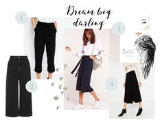 Trend: Culottes by modrea on Polyvore featuring Missguided, New Look, Topshop and Chanel