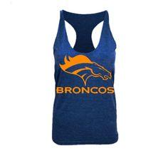 Denver Broncos Racerback Tank want this for summer! Denver Broncos Super Bowl, Go Broncos, American Apparel, Tom Boy, Funny Fashion, Football Baby, Girly Things, Racerback Tank, Colorado