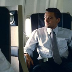 Leonardo DiCaprio in Inception. Love love this suit he wears in this movie. It's yummy!