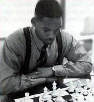 Will Smith playing Chess