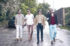 """Kings Of Leon, the hardest-partying band of the noughties, have spent the last three years cutting down on the boozing, organising food festivals and fixing their shattered relationships. With seventh album 'Walls' ready to go, Mark Beaumont heads to Nashville to hear how the Followills became a family again """"Is the ding-dong in shot?"""" Caleb Followill sucks on his third beer of a lunchtime photo shoot and adjusts a pair of eye-scorching aquamarine slacks, the better to frame the revered orbs…"""