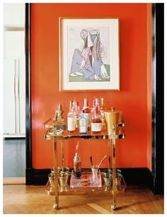 what colors go with orange? | decorating color schemes, bald