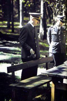 Adolf Hitler and Heinrich Himmler