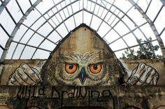 Street Art by Wild Drawing, located in Bali, Indonesia 3d Street Art, Best Street Art, Amazing Street Art, Street Art Graffiti, Street Artists, Banksy, Tachisme, Pop Art, Chalk Art