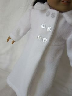 love this jacket for AG doll---look for the pattern.