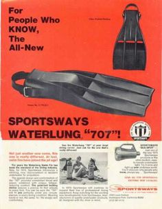 Sportsways Waterlung 707 Ad, Dive History