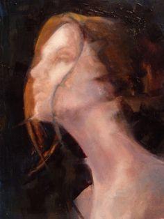 "Saatchi Online Artist: Fanny Nushka Moreaux; Oil 2013 Painting ""Light Ahead"""