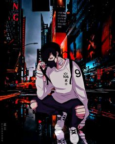 Anime Neko, Manga Kawaii, Sad Anime, Fanarts Anime, Anime Art, Dark Anime Guys, Cool Anime Guys, Hot Anime Boy, Cool Anime Wallpapers