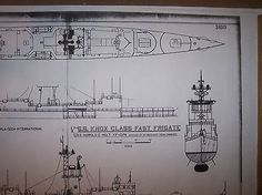 ship plans FF1074  H E HOLT 3
