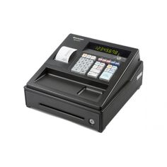 Sharp XEA107 Black - Entry Level Cash Register XEA107BK buy at best price offer at Onlypos.com.au