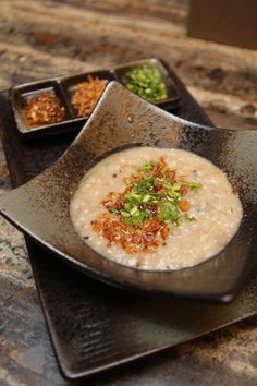 Bazaar Ramadhan Recipe Courtesy of Makan Kitchen: Bubur Lambuk Indonesian Cuisine, Indonesian Recipes, Recipe Congee, Brunch Bar, Bistro Food, Sandwiches For Lunch, Malaysian Food, Kitchen Dishes, Asian Cooking