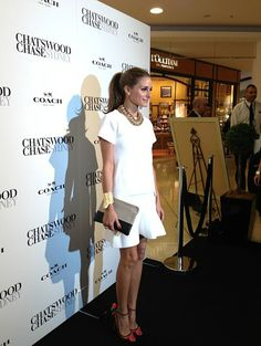 THE OLIVIA PALERMO LOOKBOOK: Olivia Palermo promoting Coach in Sydney, Australia