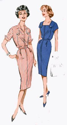 1960s Vintage Sewing Pattern Butterick 9259 Best by sandritocat, $25.00