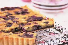 Blueberry bakewell tart recipe recipe - goodtoknow