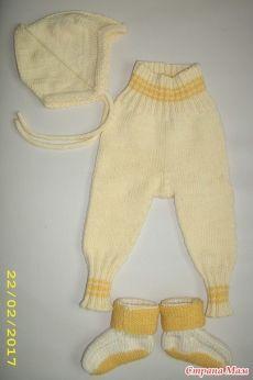 Подарок для новорожденного спицами - Вязание для детей - Страна Мам