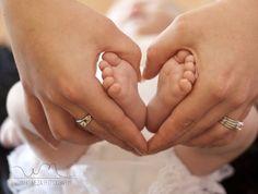 newborn baby girl photo idea