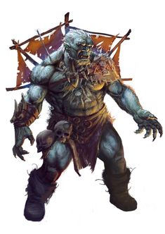 Black+Ogre+Shaman+by+Lothrean.deviantart.com+on+@deviantART