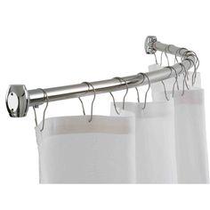 Moen Double Shower Curtain Hooks   Shower Curtain   Pinterest   Double  Shower Curtain, Double Shower And Shower Curtain Hooks