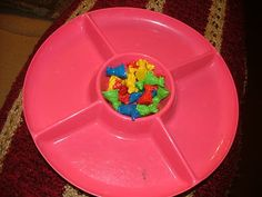 Little Hands, Big Work: Sorting activity (find chip bowl at dollar store)