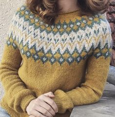The recently finished 🌼🌻 I chose the straight sleeve option and I must say I completely love it! Knitting Designs, Knitting Projects, Diy Crafts Crochet, Choose Me, Wool Sweaters, Color Inspiration, Knit Crochet, It Is Finished, Pullover