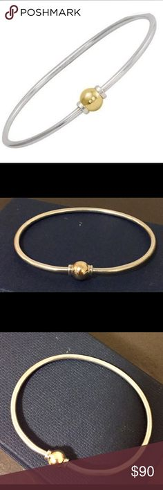 Cape Cod single bead bangle Cape Cod single bead bangle in sterling silver with 14kt yellow gold bead. Bracelet is size small. Needs a good cleaning but in great condition. New ones sell for over $200.00 Cape Cod Jewelry Bracelets